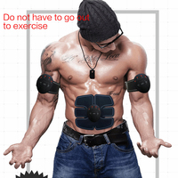 Powerful Wireless Electronic Muscle Stimulator Abdominal Muscle Ems Trainer Weight Loss Strengthen Slimming Massage With Big