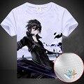 New Sword Art Online Kirito T-shirt Japan anime SAO tshirt terylene short sleeve Summer Tops Tees