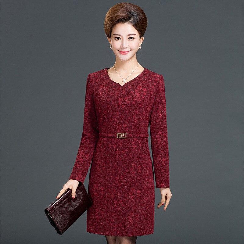 Платья для женщин пожилого возраста