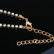 Gold Color Crystal Sexy Women's Belly Waist Chain Body Jewelry