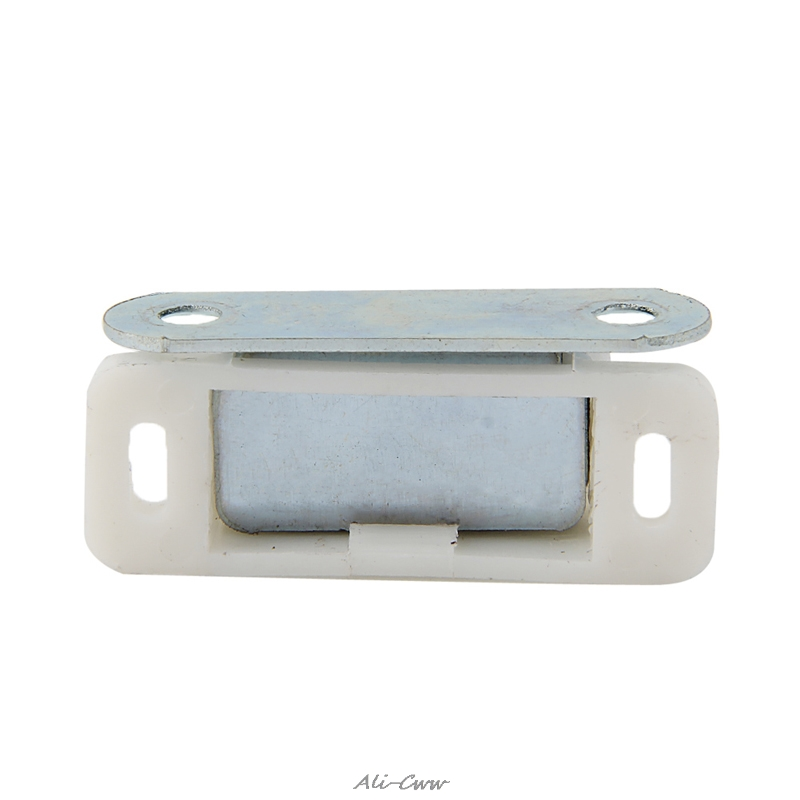 10-20 Pcs US Magnetic Door Catches Cupboard Wardrobe Kitchen Cabinet Latch Catch