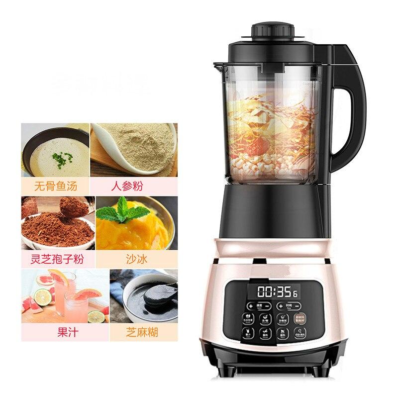Mélangeurs de nourriture chauffant mur cassé machine de cuisson lait de soja entièrement automatique ménage multifonctionnel alimentaire auxiliaire. nouveau