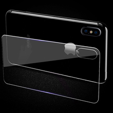 FRVSIMEM Front & Back Tempered Glass For Apple iPhone X 6 6S 7 8 Plus 5 5s SE Scratch Proof Rear Protective Glass Film