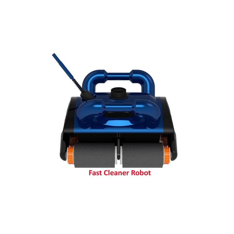 Aspirateur de piscine robot automatique AB dans le sol classique mieux pour 100-300m2, fonction de nettoyage d'escalade murale