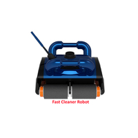 Classic AB In Ground Automatic Robotic Swimming Pool Cleaner Vacuum Better for 100 300m2,Wall Climbing Cleaning Function