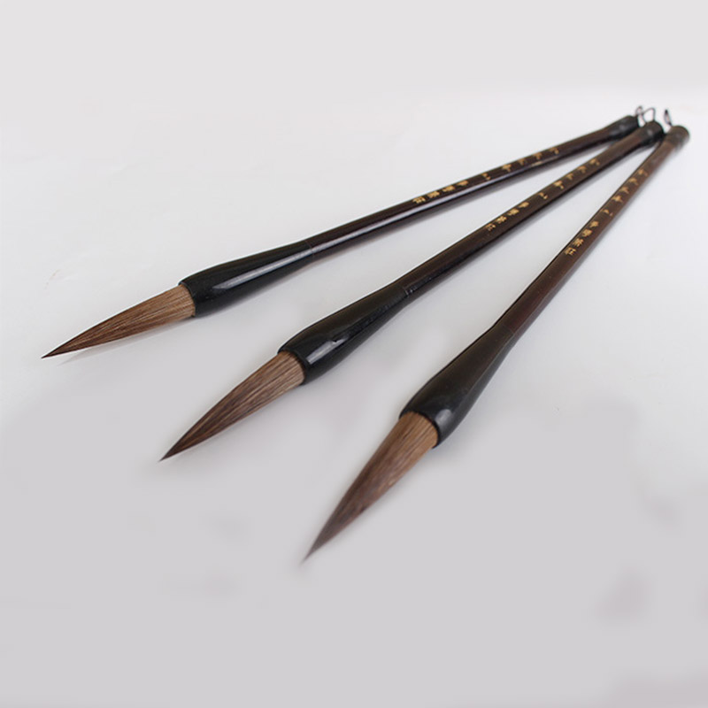 1pc calligraphy pen weasel hair writing brush Chinese landscape painting ink brush pen painting supplies minimal japanese calligraphy brush line brush rabbit hair writing brush pen calligraphy painting art supplies stationary
