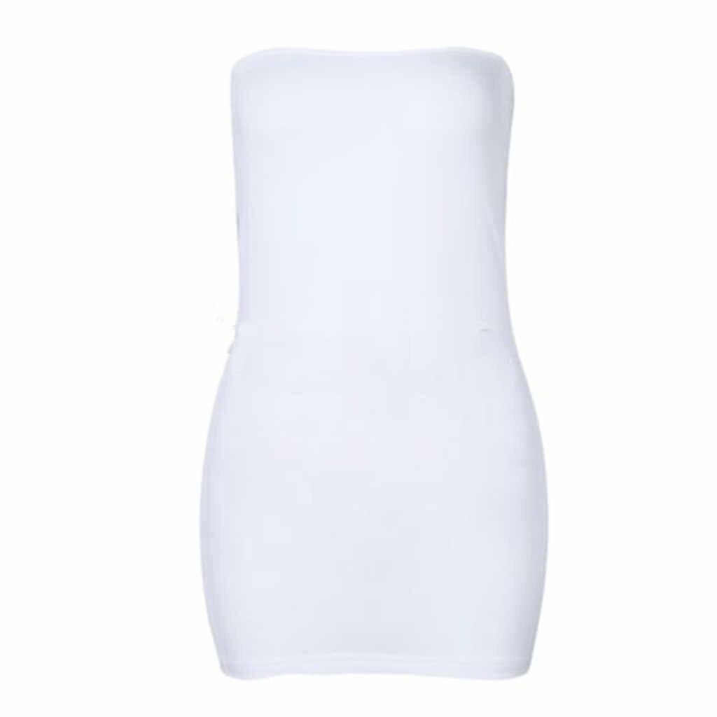 נשים Bodycon קוקטייל המפלגה לראות דרך מיני שמלת Nightwear ארוטי תחתוני 2019 תחתונים ארוטיים הלבשה תחתונה סקסית בתוספת גודל חדש