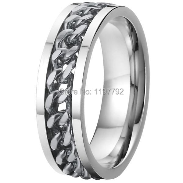 silver color mens spinner rings spinning wedding bands. Black Bedroom Furniture Sets. Home Design Ideas