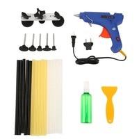 Cimiva Electric Melt Glue Gun Trigger Hand Tool Craft 20PCS Paintless Dent Repair Removal PDR Tools Auto Body Kit 0.43JC