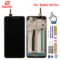 Xiaomi Redmi 4A Lcd Display Touch Screen With Frame Digitizer Assembly Replacement For Redmi 4A Pro