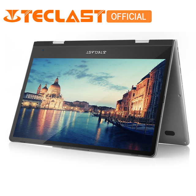 Teclast F5 Intel Близнецы озеро N4100 8 ГБ Оперативная память + 128 ГБ SSD 360 Вращающийся ноутбук Windows10 1920*1080 FHD Дисплей 11,6 дюймов Тетрадь PC