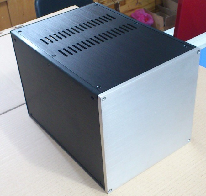 DYT-1 Heightening Full Aluminum Enclosure/preamp case/amp box/DIY PSU chassis picasso 909 black