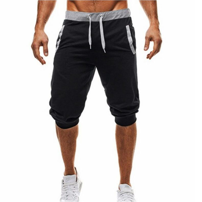 HOWL LOFTY New Men's Shorts Compression Fast Drying Fashion Joggers Sweatpants Gyms Bodybuilding Short Pants Men Sweatpants