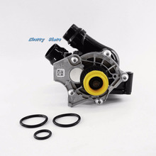 OEM Water Pump Thermostat Assembly Fit VW Passat Golf GTI CC Tiguan Jetta AUDI A3 A4 A5 A6 Q3 Q5 TT 1.8T 2.0T 06H 121 026 CQ