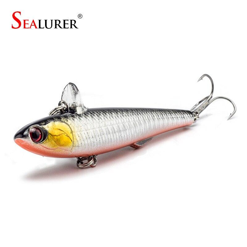 SEALURER 14.5g 9cm Bleistift Wobbler lockt Winterfischen-harte Köder 1pcs / lot 5 verfügbare Farben Crankbaits