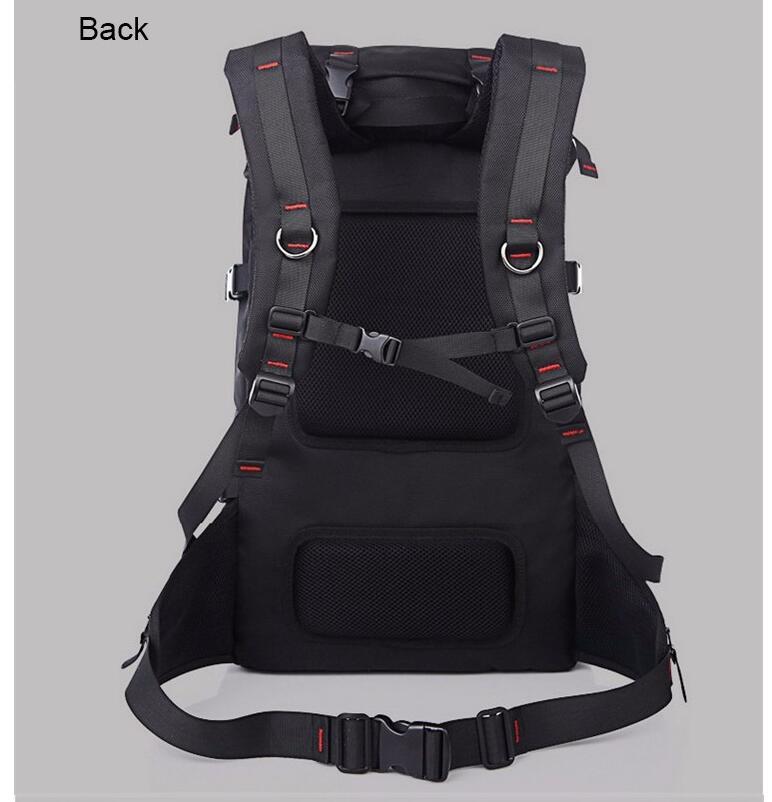 Kaka grande capacidade 55l mochila de viagem