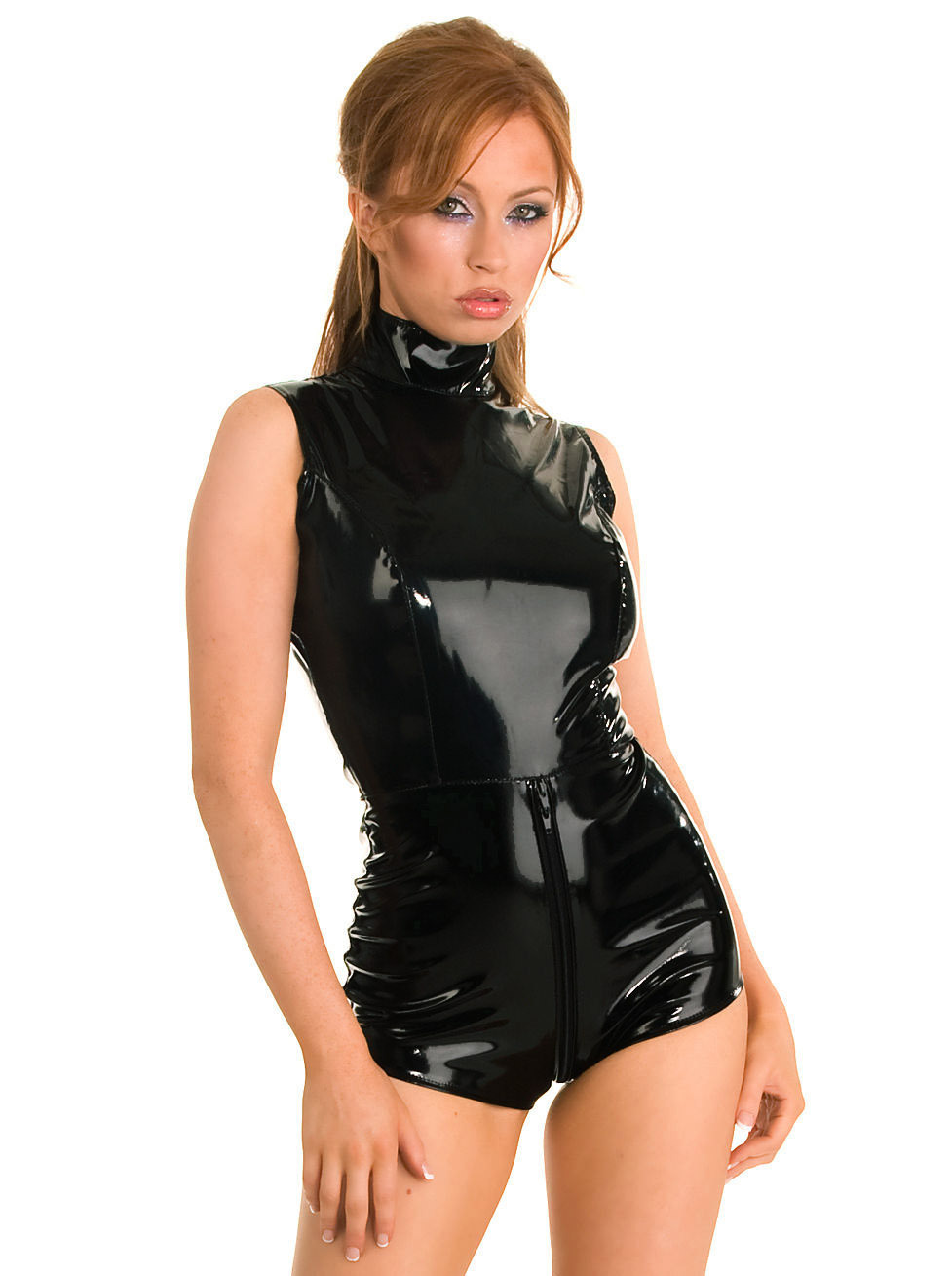 Shame! Sexy girls black leather body suits opinion