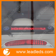 12V 30cm length 7X40pixel indoor red small lamparas led thin mini SMD Car LED Moving sign