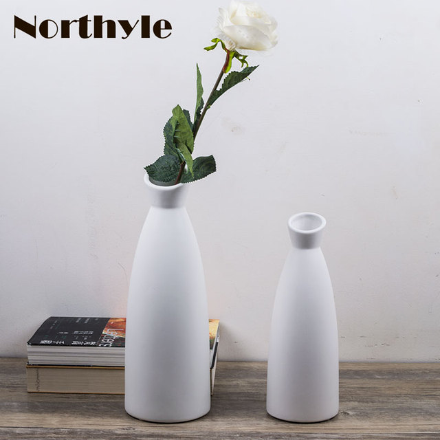 Aliexpress.com : Buy Simple vase modern ceramic Flower Vase home ...
