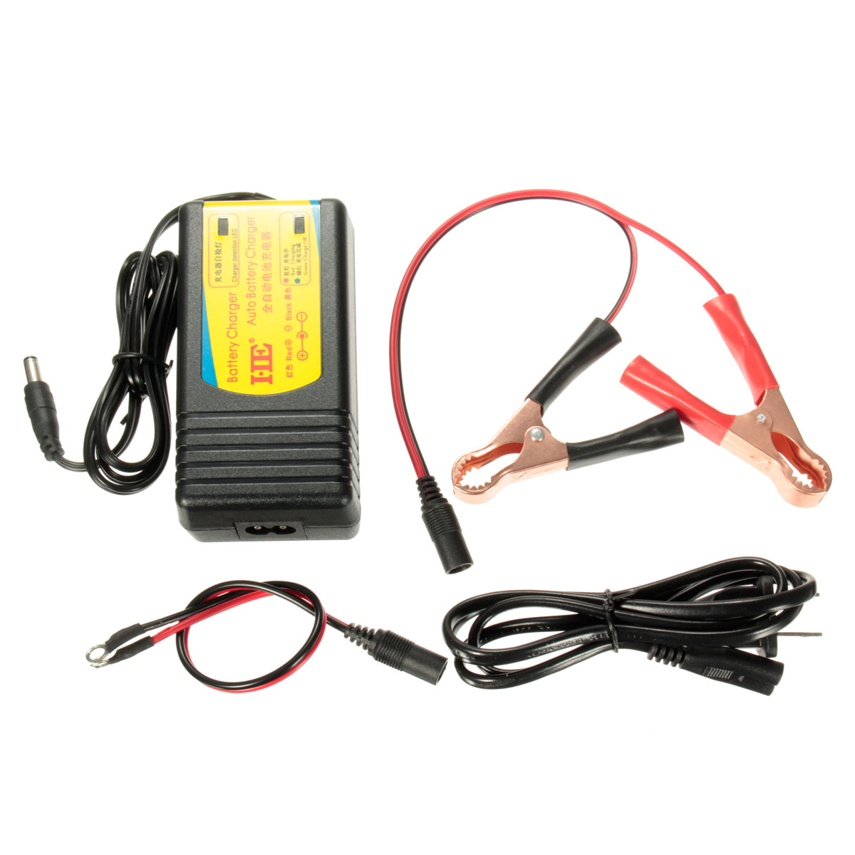12 V Filet Voiture Bateau Moto Véhicules Récréatifs Numérique Automatique Batterie Flotteur Chargeur