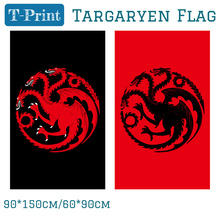 Free shipping Blood Targaryen Sigil Logo Licensed Large Flags 90x150cm 60*90cm Polyester Digital Print Banner 3x5ft