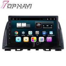 """WANUSUAL 10,1 """"Quad Core Android 6.0 Auto GPS für Mazda 6 ATENZA 2014 2015 2016 Autoradio Audio Stereo, KEINE DVD-"""