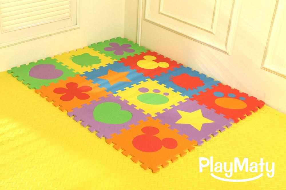 Pavimento In Gomma Per Bambini : Materiale della gomma piuma di eva puzzle tappeto da gioco per