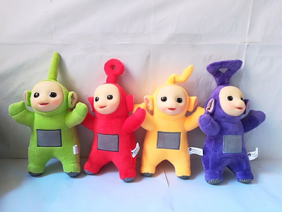 Teletubbies Laa Po Tinky Dipsy about 25cm Plush Toy soft Doll one lot/4 pcs Christmas Gi ...