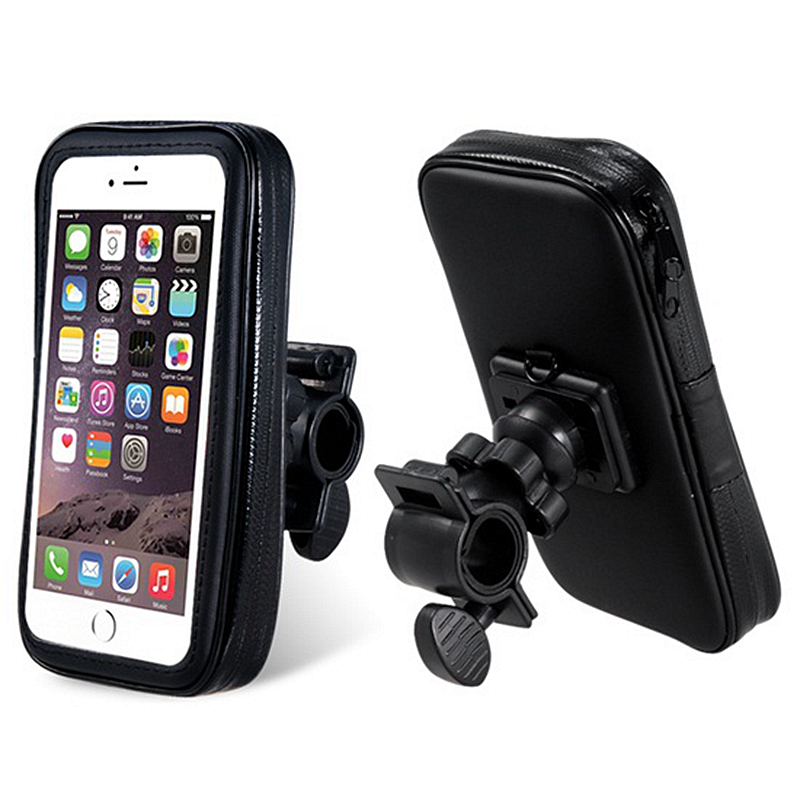 Motorcycles Bicycles Waterproof Bag Phone Case Pouch Handlebar Mount Holder For Iphone 6 6s
