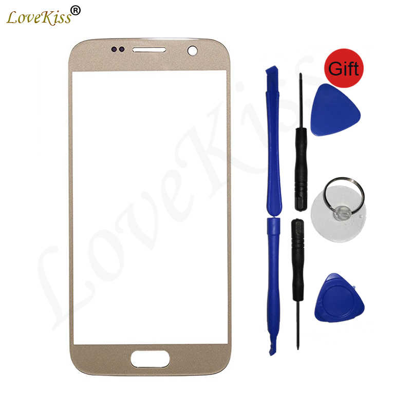 S7 Touchscreen Panel Voor Samsung Galaxy S7 G930 G930F G930FD Touch Screen Sensor Lcd Display Digitizer Glas Cover Vervanging