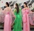 Adulto criança 10 cores tradicional chinesa bonita dança dress meninas mulheres dinastia hanfu traje trajes antigos chineses