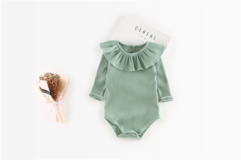 Baby Spring Season Long Sleeve Bodysuit [6 Colors Variation]