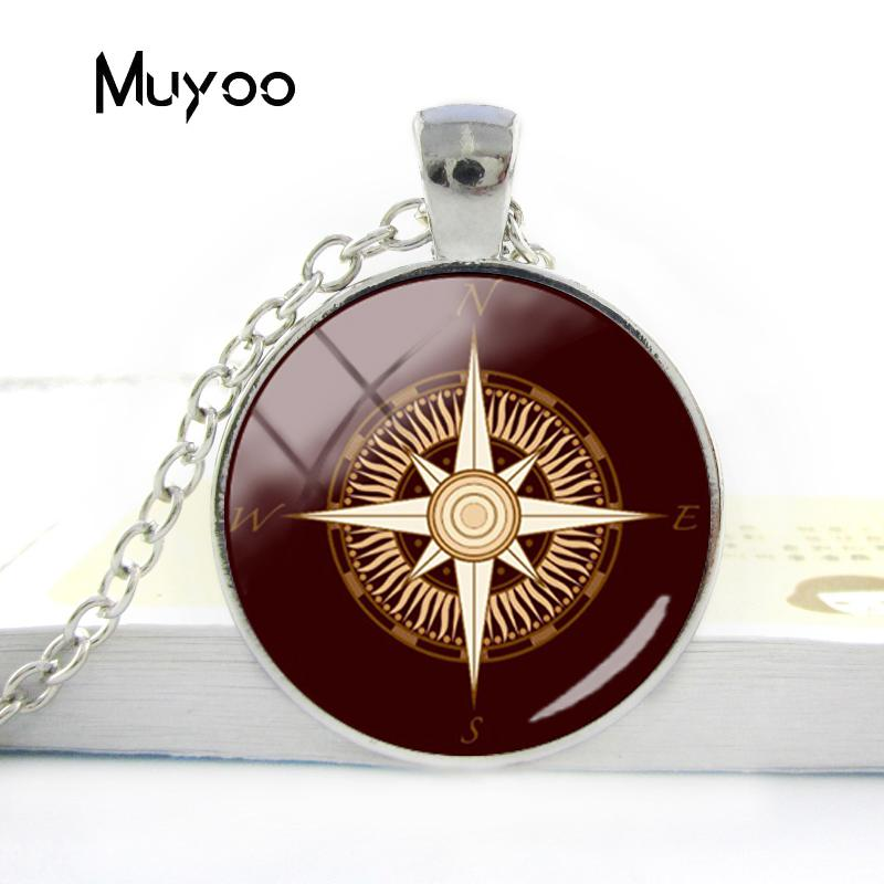 HTB18frYV6DpK1RjSZFrq6y78VXa7 - Vintage Old Compass Rose Steampunk Style Glass Cabochon Pendant Necklaces Glass Color Compass Jewelry Nacklace Gifts