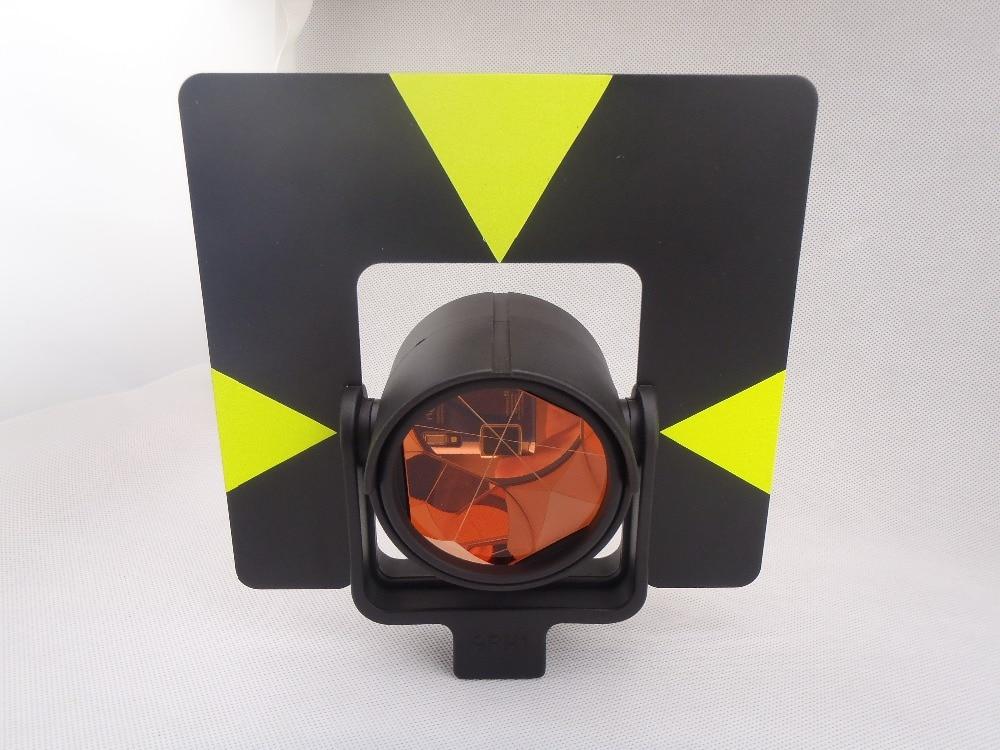 Black Target Single Prism with soft bag for leica total station .constant: 0mm single prism 0mm offset with yellow bag for total station free shipping