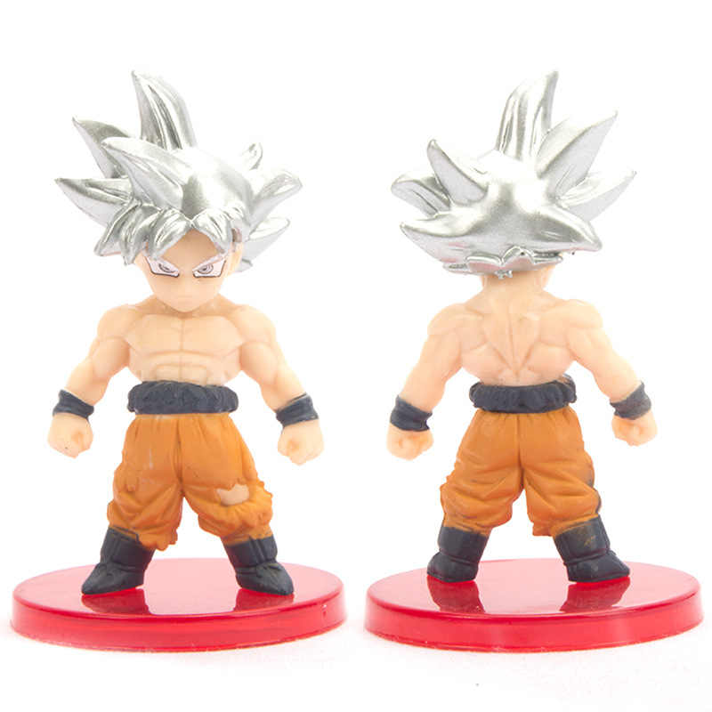 21Pcs New Dragon Ball Z Super Saiyan Goku Gohan Vegeta Vegetto Syn Shenron Janemba Freeza PVC Figuras Brinquedos para o Presente das crianças
