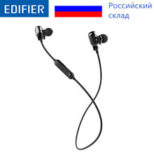 EDIFIER W293BT In-ear Wireless Bluetooth V4.1 Earphones Noise Cancelling Headset Supports AAC and AptX Audio Decoding(China)