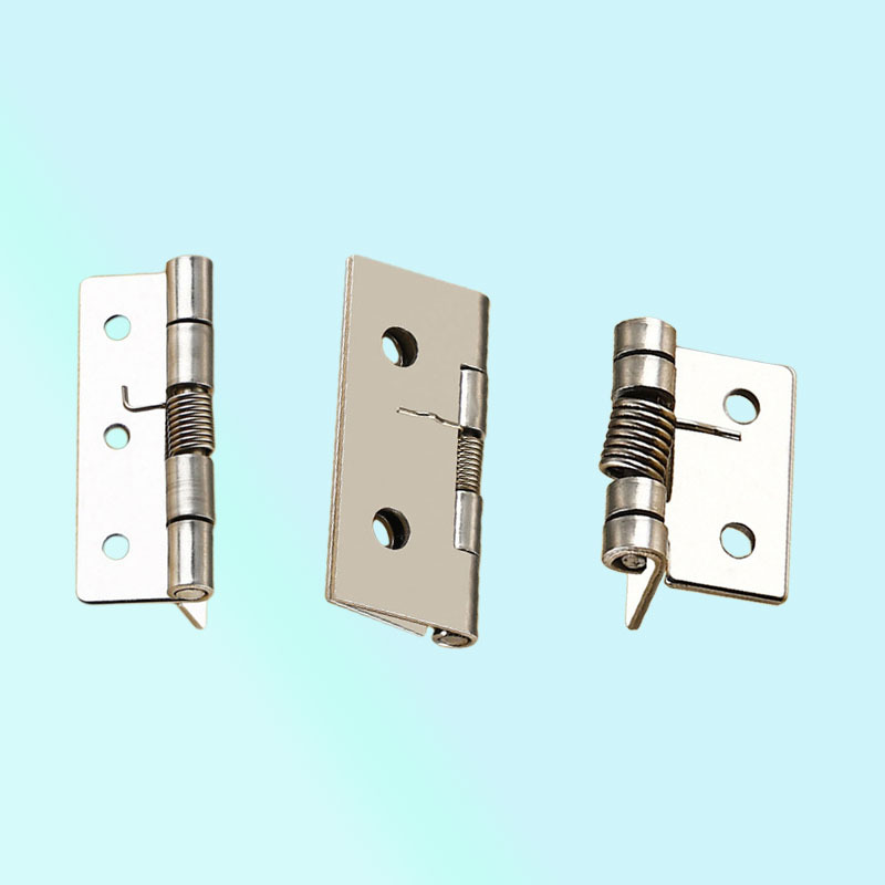 JD Mini 1-inch-4-inch 304 Stainless Steel Spring Hinge Automatic Resilience Hinge For Industrial Household Hardware Equipment