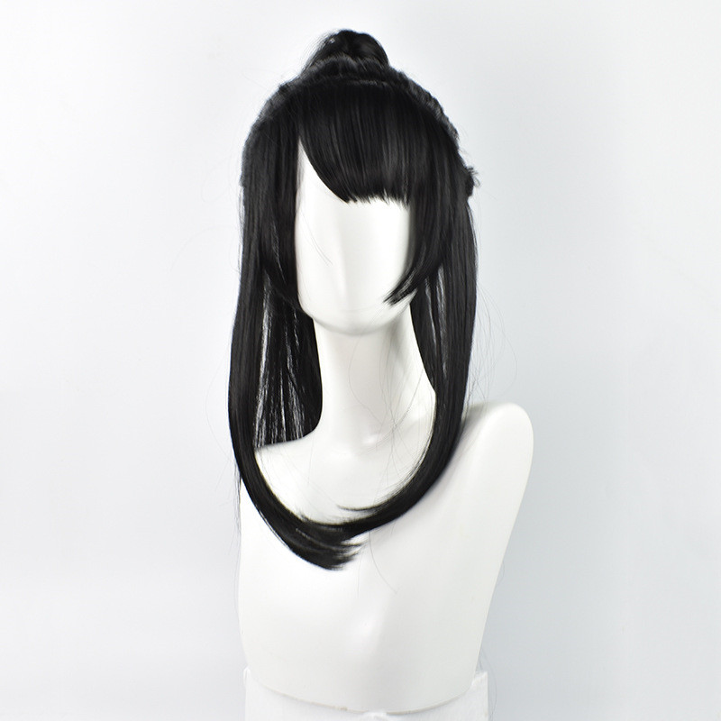 Image 2 - Grandmaster of Demonic Cultivation Xue Yang Xiao Xing Chen Cosplay Wig Chinese Anime Magic Ancestors Cosplay Black Long Hair Wig-in Anime Costumes from Novelty & Special Use