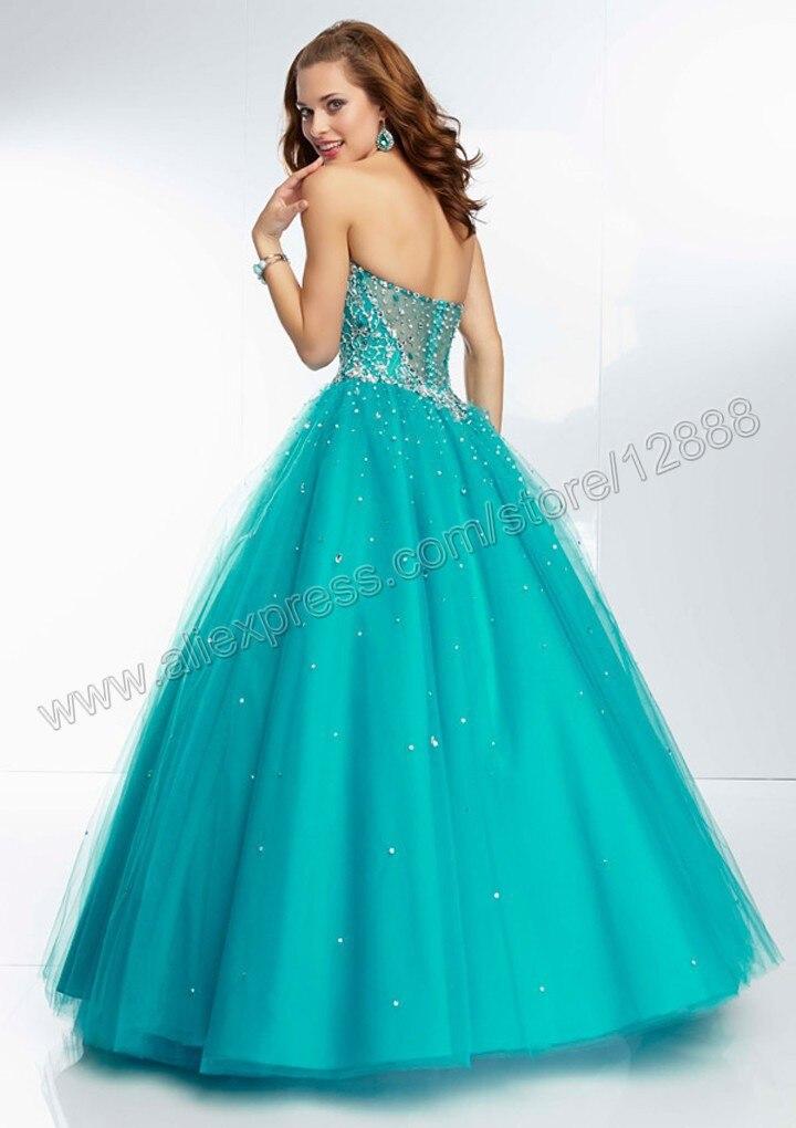 e29877115 Vestido boda azul turquesa – Vestidos de noche