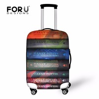 FORUDESIGNS Harry Potter Book Print Case Cover Dustproof Luggage Protective Covers For Men Women New Fashion