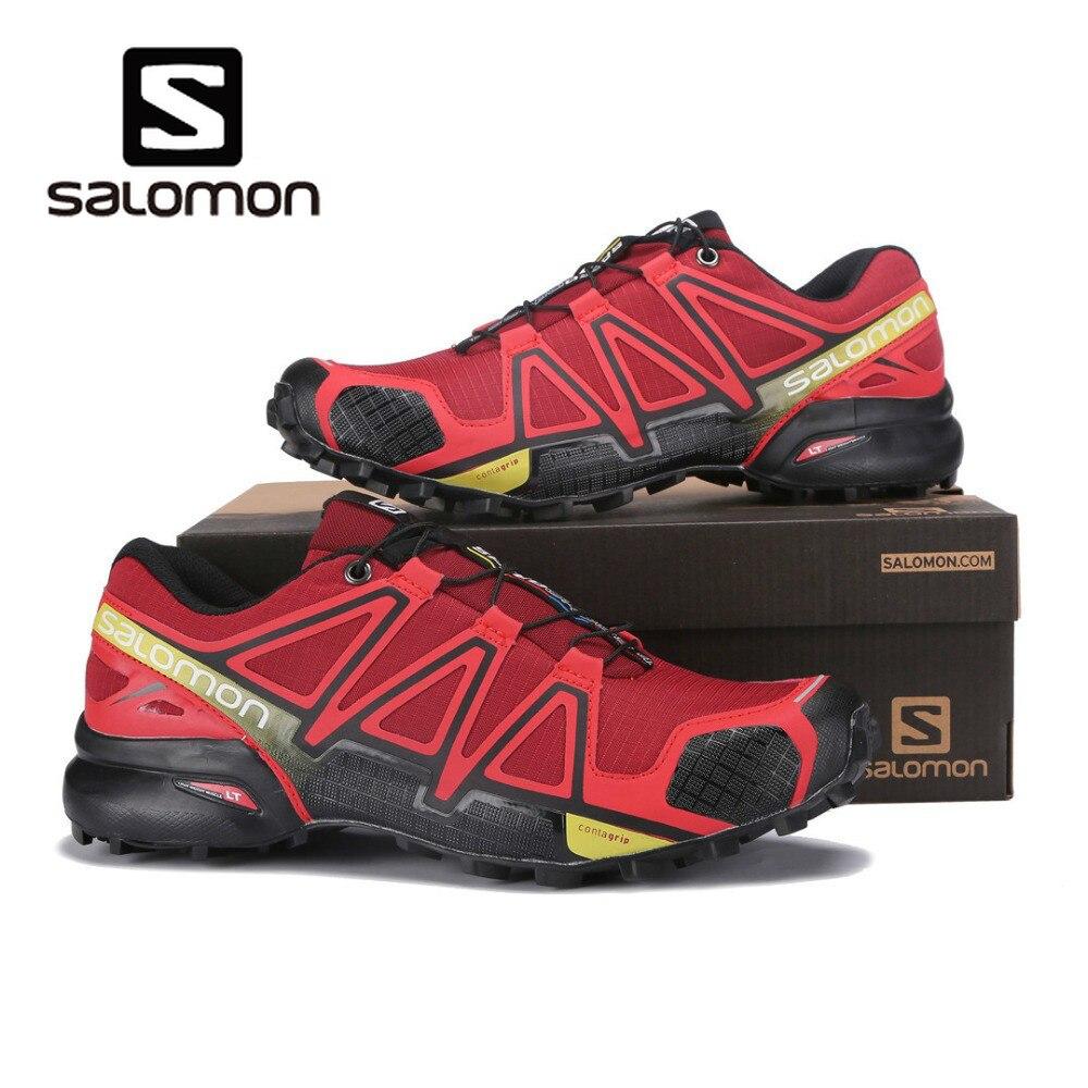 2019 Salomon vitesse Cross 4 hommes chaussures Sport athlétique Zapatillas Hombre Speedcross CS mâle Salomon escrime course chaussures Mujer