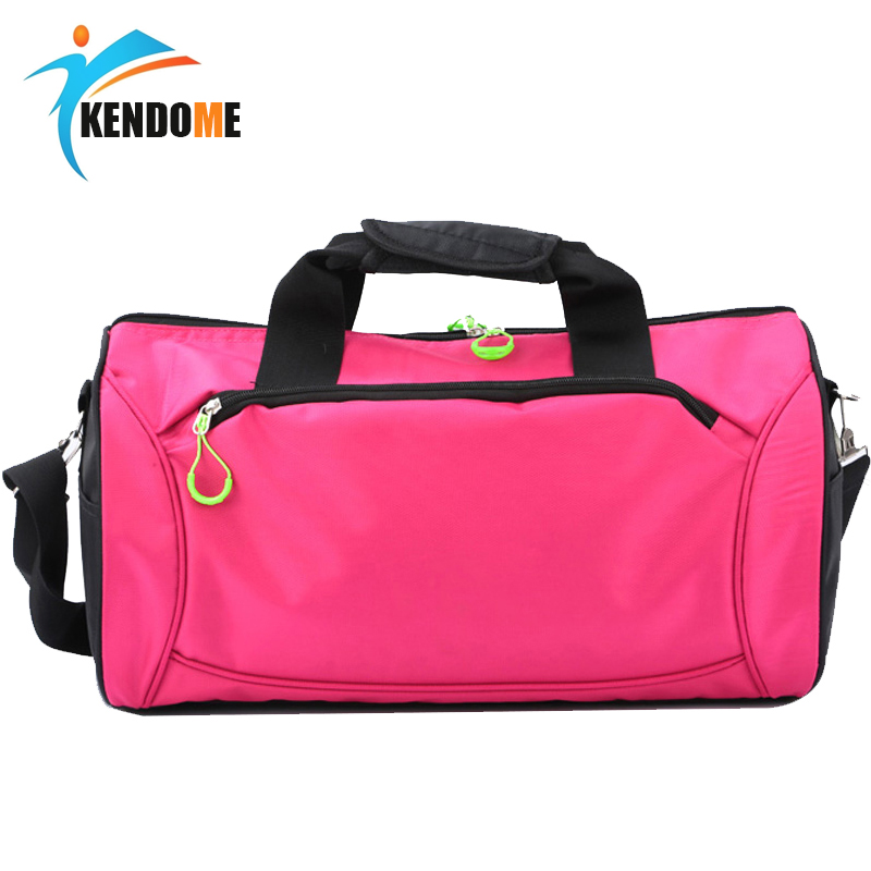 Hot Waterproof Top Nylon Gym Sports Bag Men Women Fitness Training Travel Handbag Outdoor Camping Traveling Hiking Bag top quality nylon outdoor male sport bag new women gym shoulder bag traveling storage handbag for men fitness sports bag