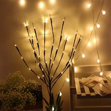 Цветочное освещение 20 лампочек украшения для дома рождественской