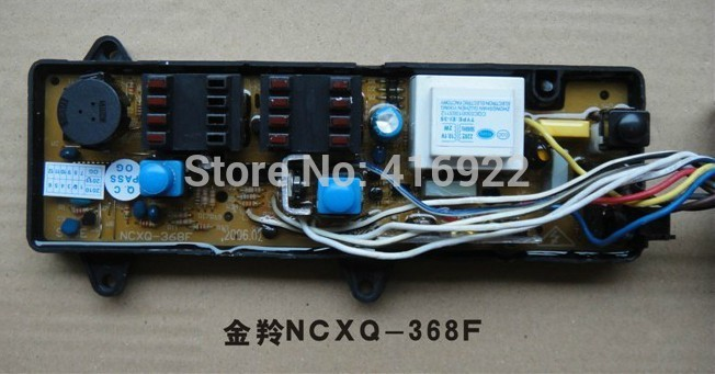 Free shipping 100% tested for Jinling washing machine Computer board NCXQ-368F XQB50-398F control board motherboard free shipping 100% tested for kangjia washing machine control board ncxq qs07 1 computer board on sale