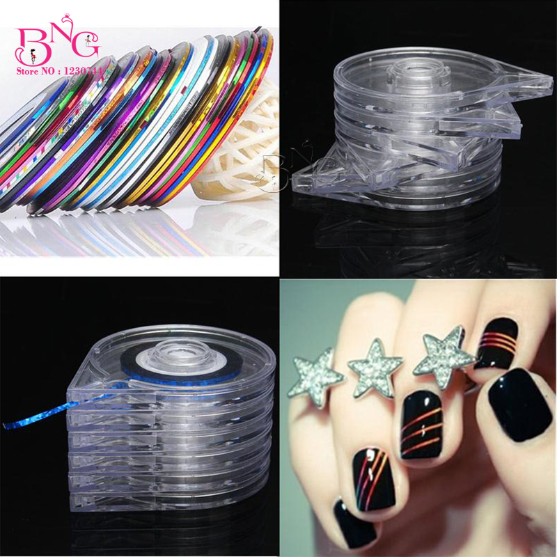 Aliexpress.com : Buy BNG 6 Layers Clear Nail Art
