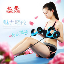 Multifunctional abdominal fitness equipment home pull abdominal muscle thin waist abdominal exercise Puller