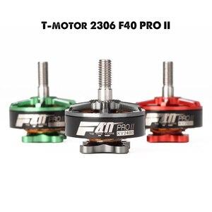 Image 1 - 新到着 t モーター F40 プロ ii 1600KV 2400KV 2600KV 3 4 s ブラシレスモーター rc multirotor fpv レースドローン黒、緑、赤