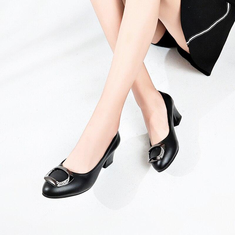c36d5790f0f6 ... Chaussure Scarpe Bianca Cuoio Appartamenti Femme Disegno 901 Ballerine  41 Più White Mocassini 809 Nero Black