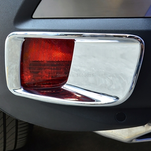 Для Peugeot 3008 GT 2017 2018 2019 2020 хромированная лампа заднего противотуманного фонаря Foglight КРЫШКА формовочная отделка внешние аксессуары Стайлинг а...