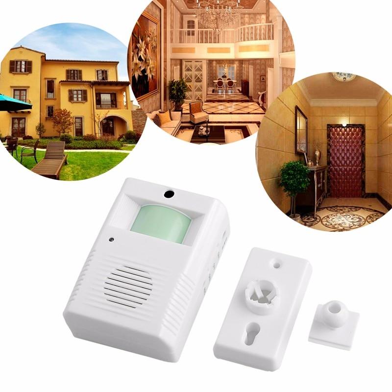 New Shop Store Chime Motion Sensor Wireless Alarm Entry Door Bell